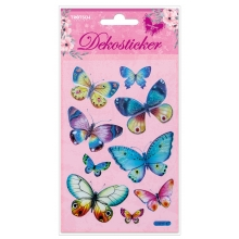 Dekosticker Schmetterling