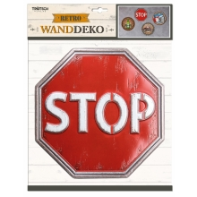 Wandsticker Retro STOP
