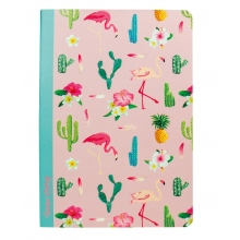 Notizbuch Flamingo Softcover