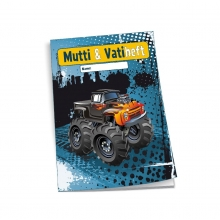 "Mutti- & Vatiheft ""Monster-Truck"""