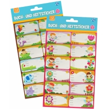 Pop-up Buch- & Heftsticker
