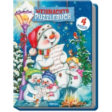 Weihnachts-Puzzlebuch 4 Puzzle