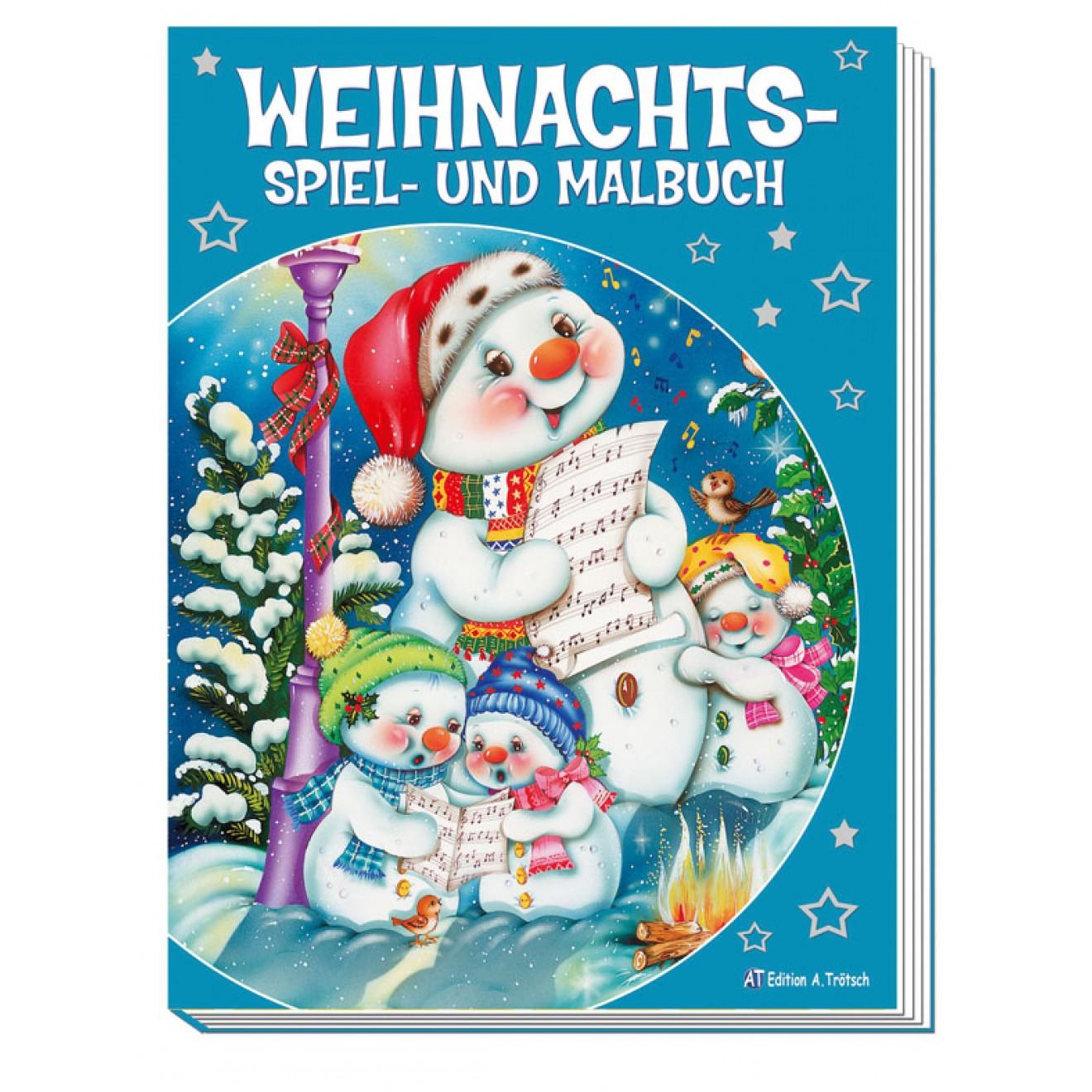Weihnachts-Spiel- und Malbuch, Trötsch Verlag Online-Shop