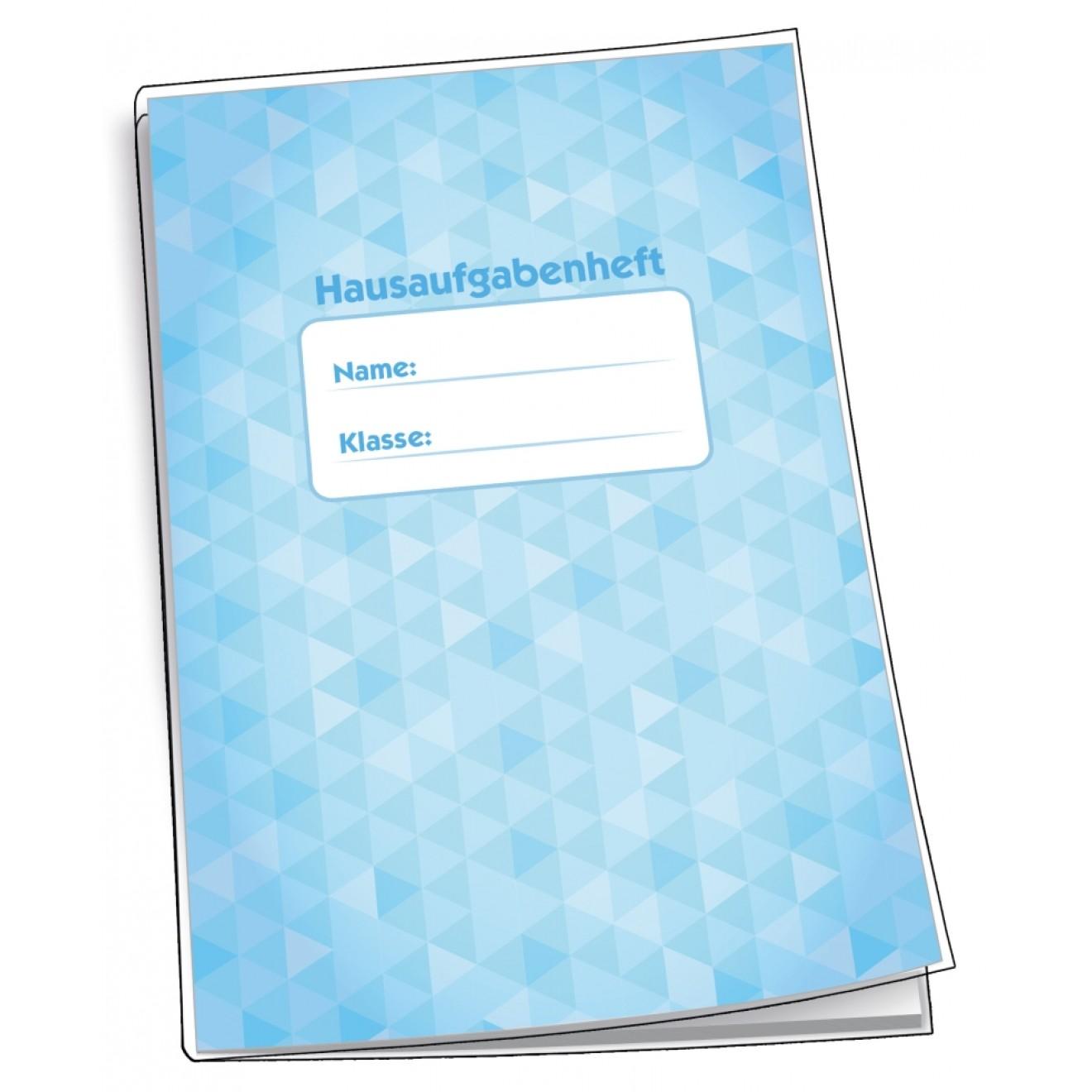 Trötsch Hausaufgabenheft für Schlaue A5 96 Seiten mit Schutzumschlag