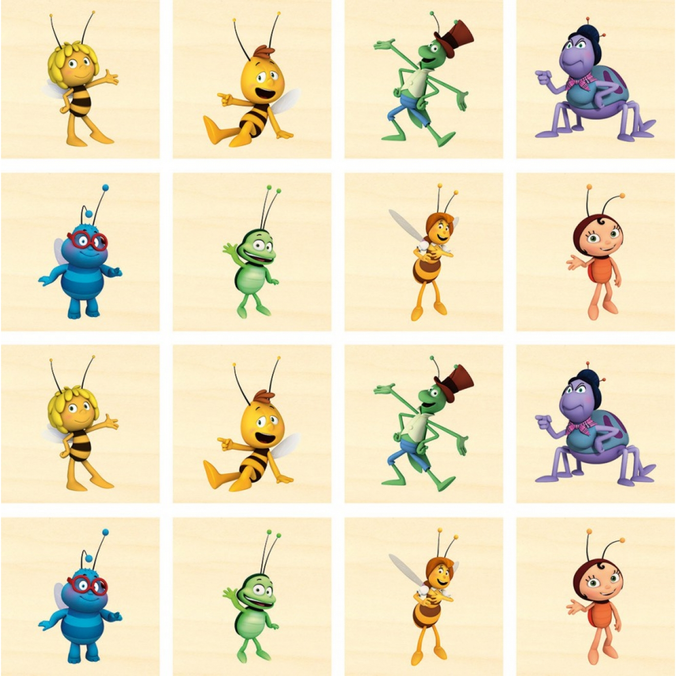 Biene Maja Figuren Namen
