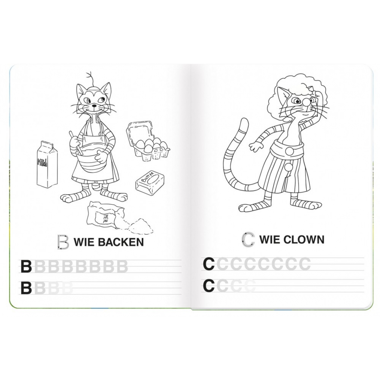 ABC-Malbuch Pettersson & Findus, Trötsch Verlag Online-Shop