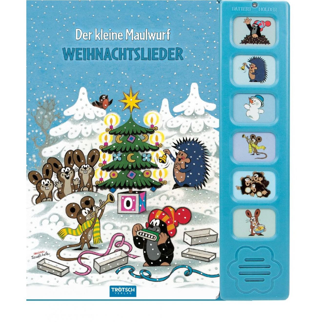 Soundbuch Weihnachtslieder Der kleine Maulwurf, Trötsch Verlag ...